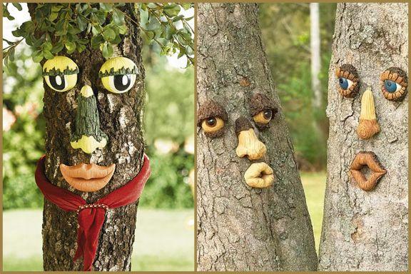 Деревянные поделки для сада фото