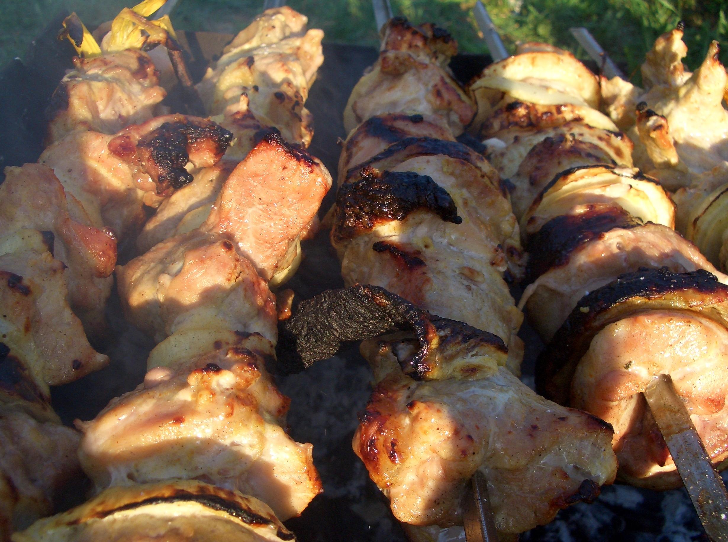 Шашлык из баранины рецепт пошагово на костре