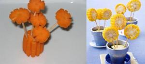 Podelki-tsvetov-iz-ovoshchey-nuzhna-kukuruza-i-morkov1