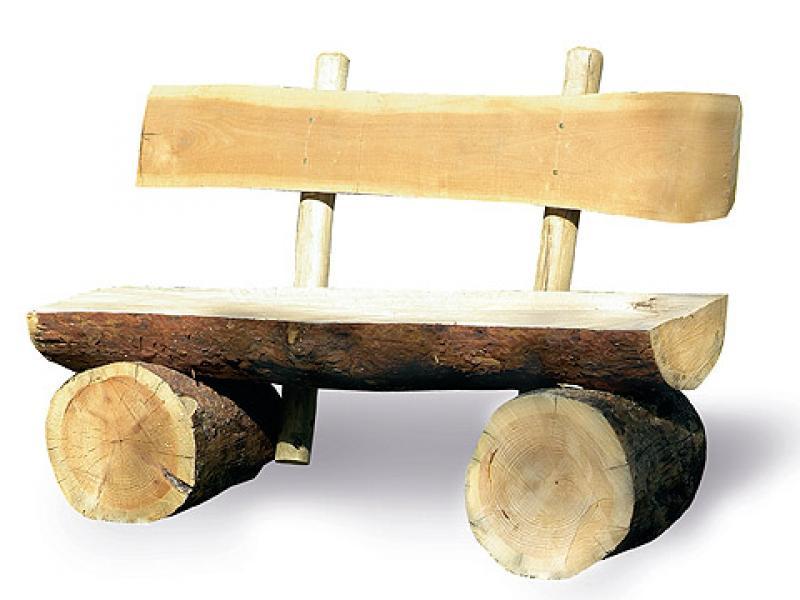 """Садовая лавочка своими руками скамейки из бревен фото """" Для тех, кто почувствовал в себе строителя"""