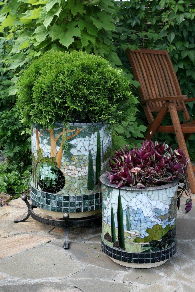 Декорации в сад своими руками фото