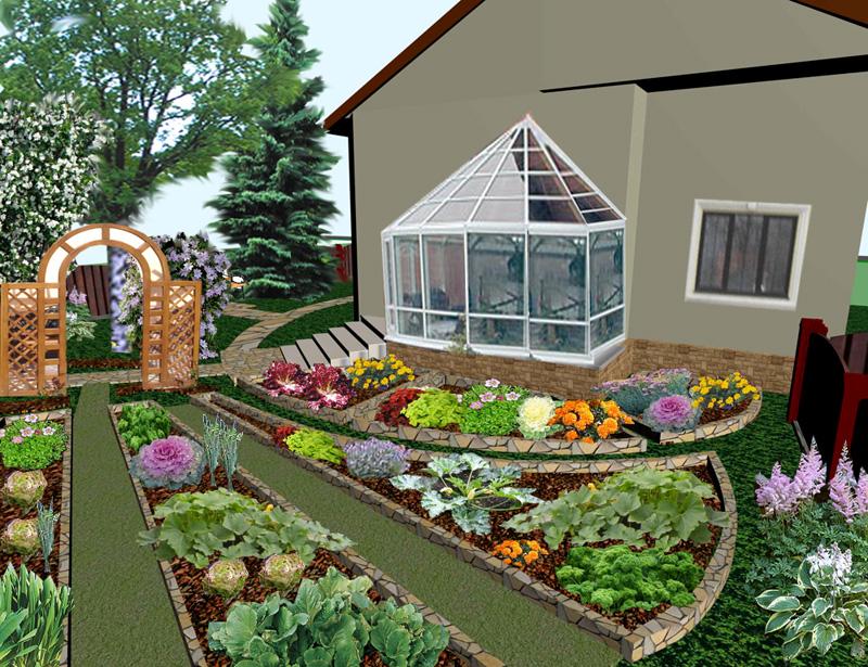 Оформление сада и дачного участка