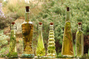 herb oils and vinegars