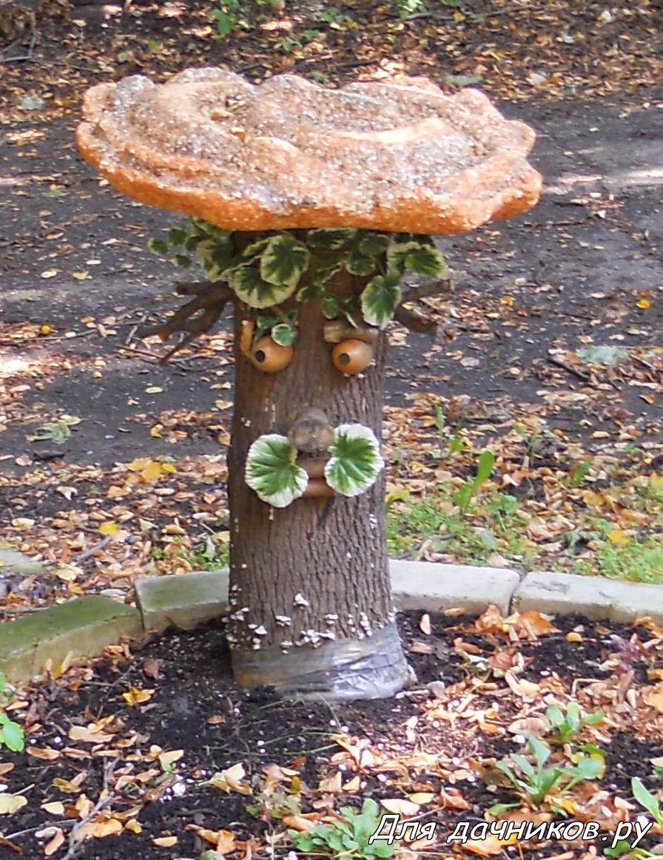 Грибы для сада своими руками фото из гипса 86
