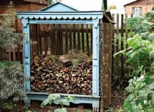 Творческий подход к укладке дров, Для