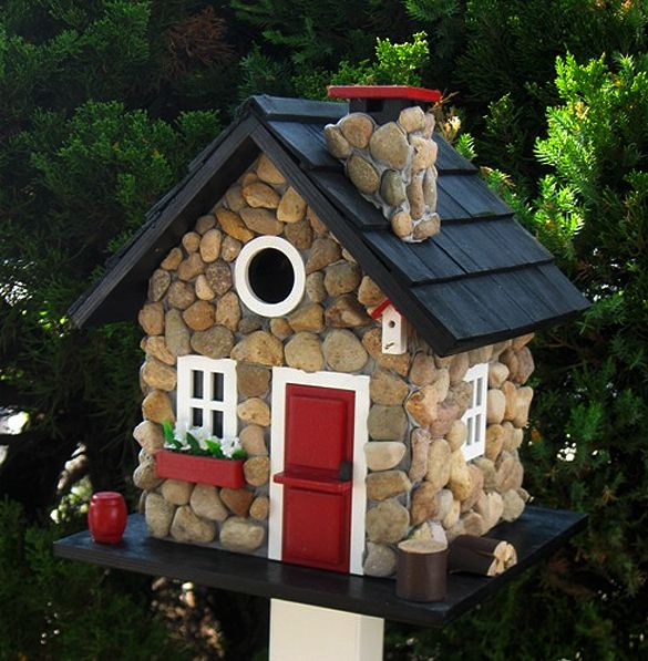 Домики для птиц своими руками фото оригинальные идеи из