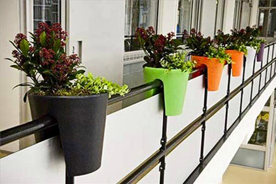 Интересные решения для озеленения балкона интерьерные штучки.