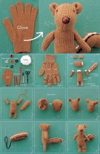 DIY-Chipmunk-Softie-whith-a-recycled-glove-BeAStrainer