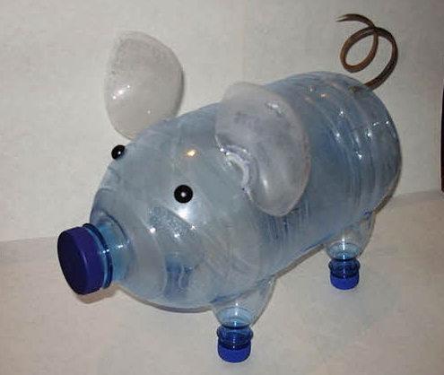 Поделки из бутылки пластиковой своими руками для дачи