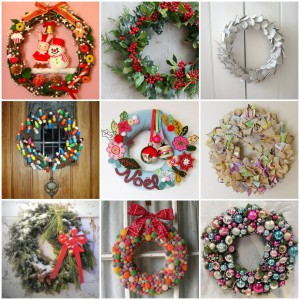 ideas-wonderful-collection-of-christmas-wreaths-ideas-in-9-designs-with-garland-and-twigs-and-papers-also-fabric-and-candies-wreaths-50-exquisite-christmas-wreath-ideas-for-your-front-door